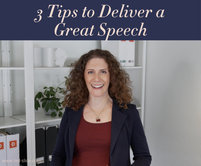 Maria Ross 3 Tips to Deliver a Great Speech